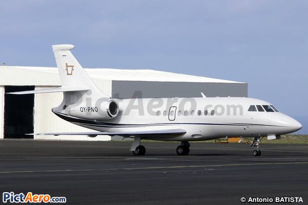 Dassault Falcon 2000EX (Air Alsie)