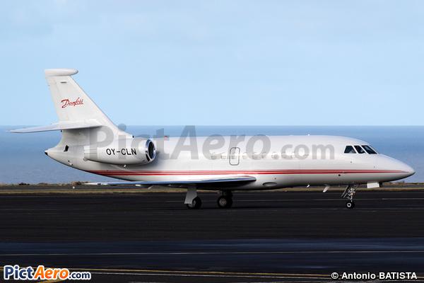 Dassault Falcon 2000EX (Danfoss Group)