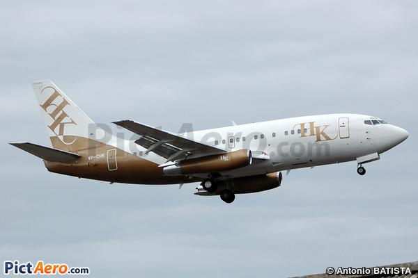 Boeing 737-2S9/Adv (Executive Jet Aviation)
