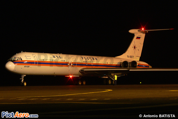Tupolev Tu-114 (Russia - Ministry for Emergency Situations (MChS))