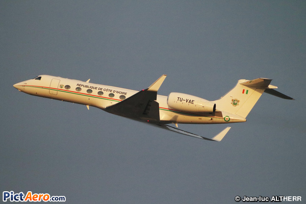Gulfstream Aerospace G-550 (G-V-SP) (Ivory Coast - Air Force)