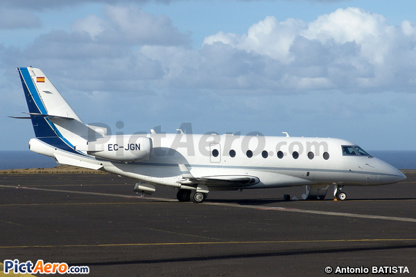 Gulfstream G200 (IAI-1126 Galaxy) (Gestair SA)