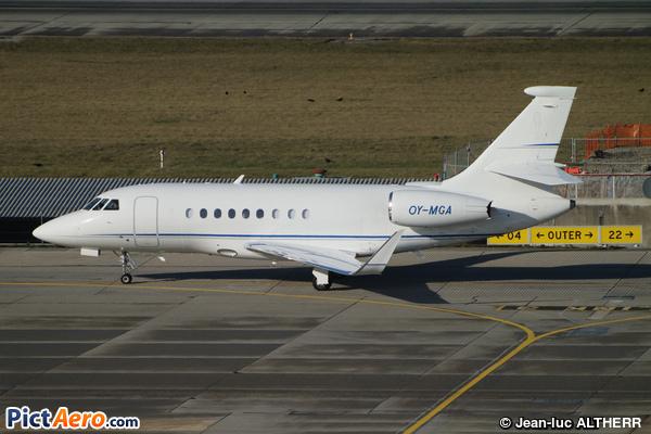 Dassault Falcon 2000LXS (Air Alsie)