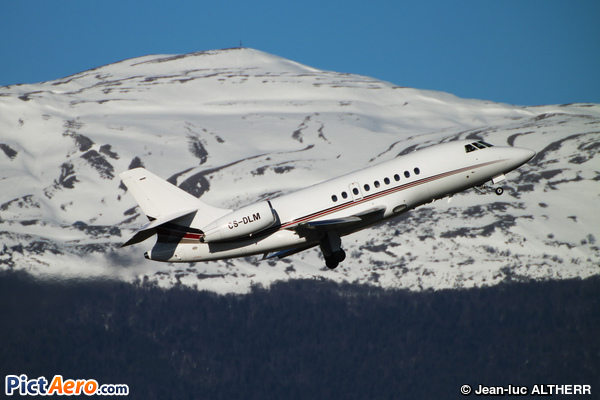 Dassault Falcon 2000EX (NetJets Europe)
