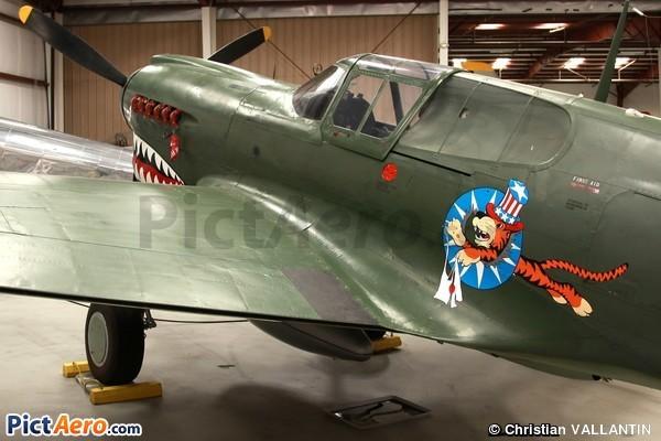 Curtiss P-40E Warhawk (Yanks Air Museum)