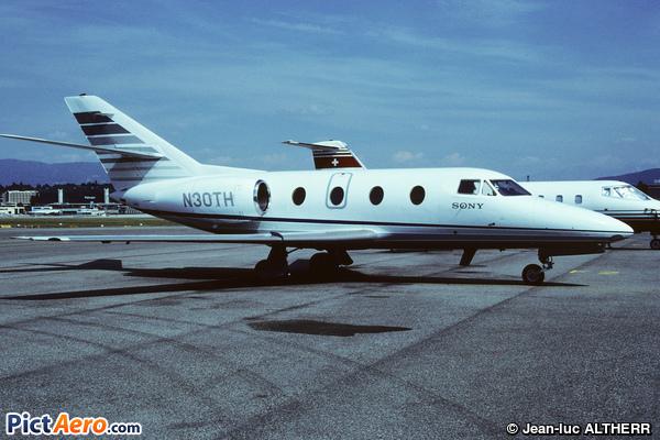 Dassault Falcon 10 (Sony Corp.)