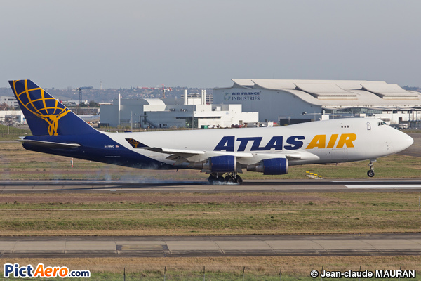 Boeing 747-48EF/SCD (Atlas Air)