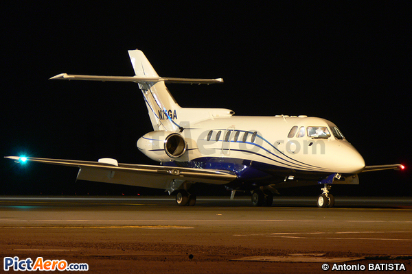 Hawker Siddeley HS 125-600A (Private / Privé)