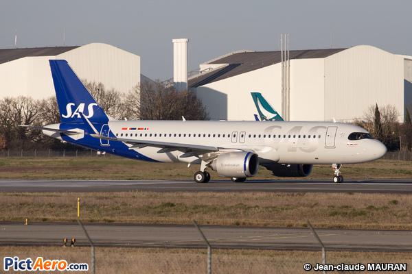 Airbus A320-271N  (Scandinavian Airlines (SAS))