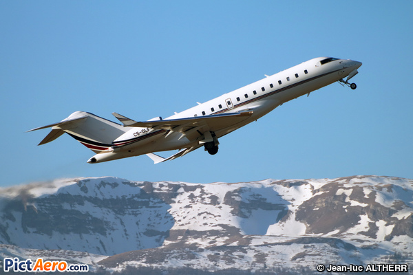 Bombardier BD-700-1A10 Global 6000 (NetJets Europe)