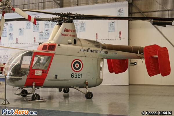 Kaman HH-43B Huskie (K-600) (Thailand - Air Force)