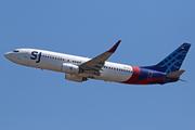 Boeing 737-8K5/WL (PK-CLT)
