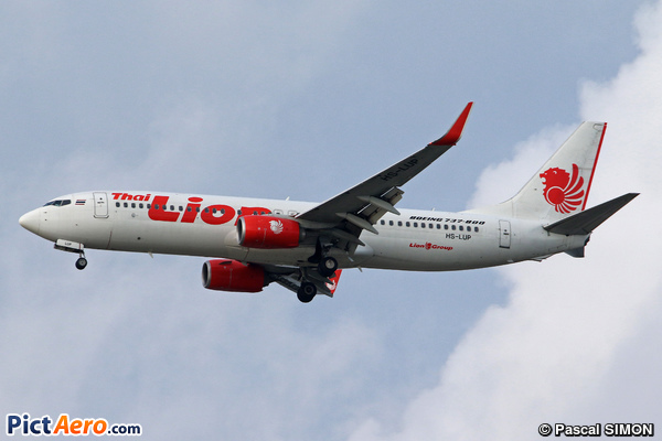 Boeing 737-8GP/WL (Thai Lion Air)