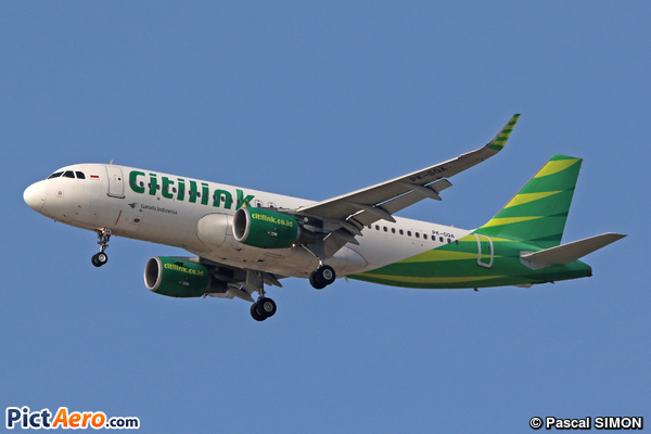 Airbus A320-214/WL (Citilink Airlines)