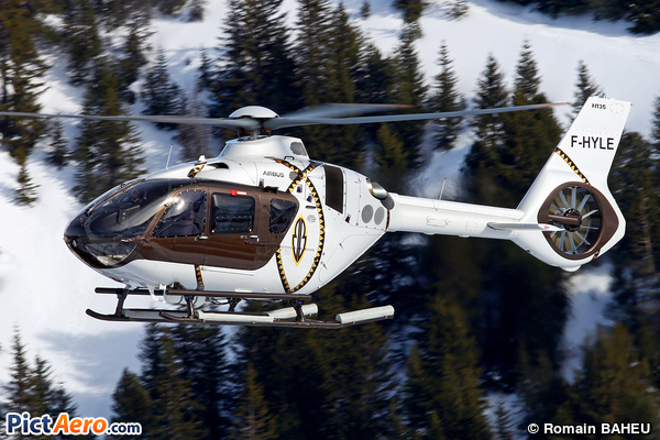 Airbus Helicopters H135 (Héli Securité - Helicopter Airline)