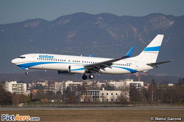Boeing 737-85F/WL (Enter Air)
