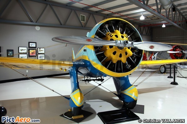 Boeing P-26A Peashooter (Planes of Fame Museum Chino California)