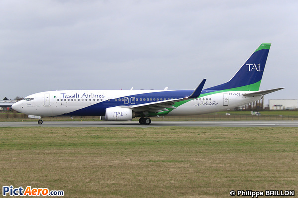 Boeing 737-8ZQ/WL (Tassili Airlines)