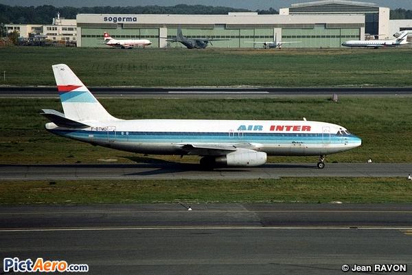 Dassault Mercure 100 (Air Inter)