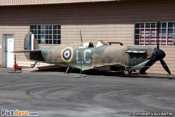Supermarine Spitfire Mk1A (Planes of Fame Museum Chino California)