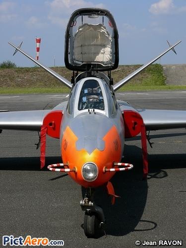 Fouga CM-170 Magister (Conservatoire de l'Air et de l'Espace d'Aquitaine)
