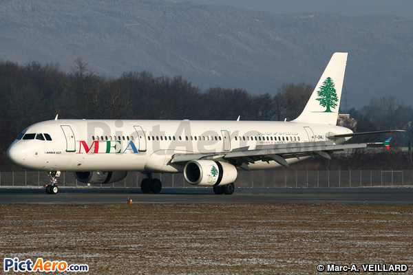 Airbus A321-231 (Middle East Airlines (MEA))