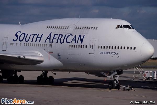Boeing 747-312 (South African Airways)