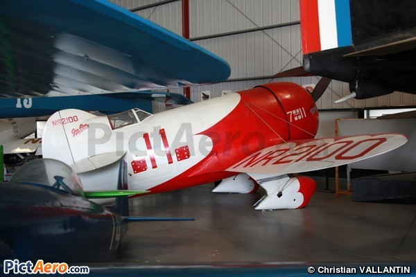 Granville Brothers Sportster D Gee Bee R-1 (Planes of Fame Museum Chino California)