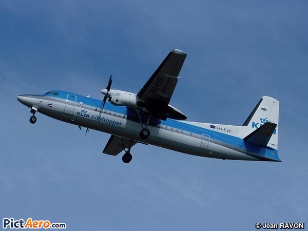 Fokker 50 (KLM Cityhopper)