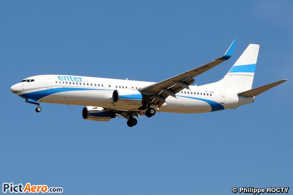 Boeing 737-8Q8/WL (Enter Air)