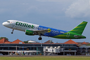 Airbus A320-214 (PK-GLW)