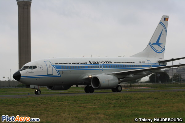 Boeing 737-78J/WL (Tarom - Romanian Air Transport)