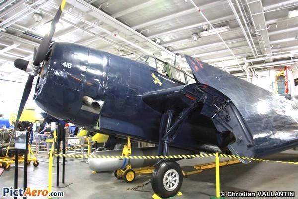 General Motors TBM-3E Avenger (USS Midway Museum)
