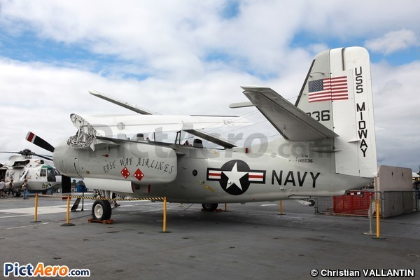 Grumman C-1A Trader (USS Midway Museum)