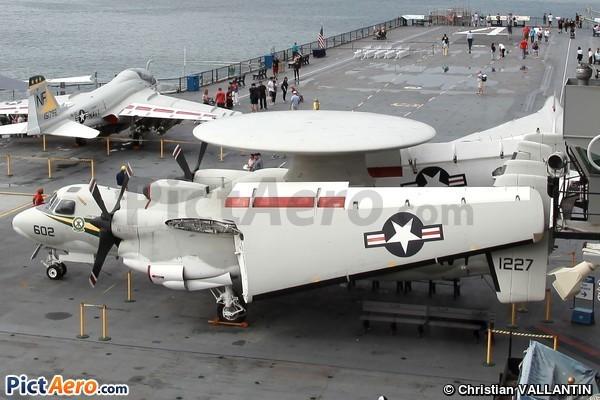 Grumman E-2C Hawkeye (USS Midway Museum)