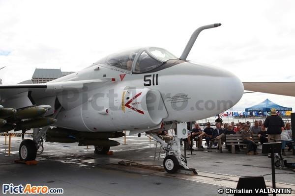 Grumman A-6A Intruder (USS Midway Museum)