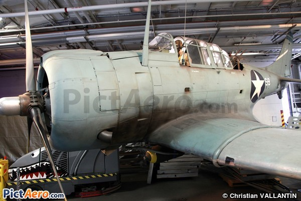 Douglas SBD-3 Dauntless (USS Midway Museum)