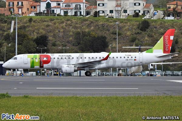 ERJ-190-200IGW 195AR  (TAP Express)