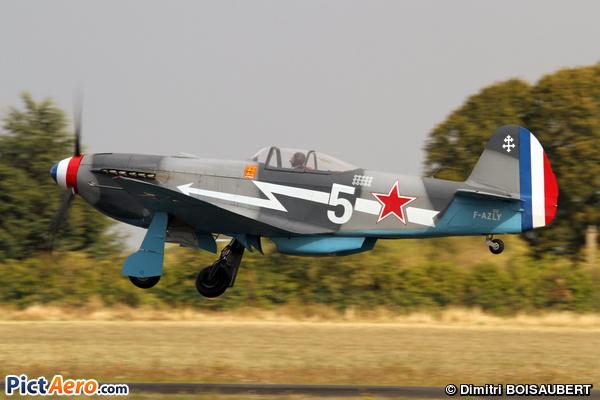 Yakovlev Yak-3UA (CANU Stephane)
