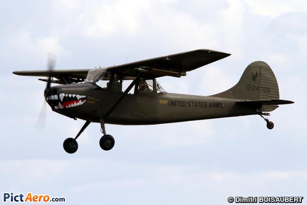 L-19A (305A) Birddog  (Ailes Anciennes de Corbas)