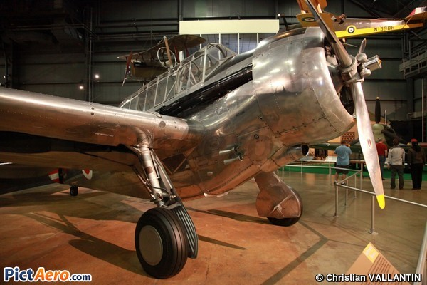 North American O-47B (National Museum of the USAF)
