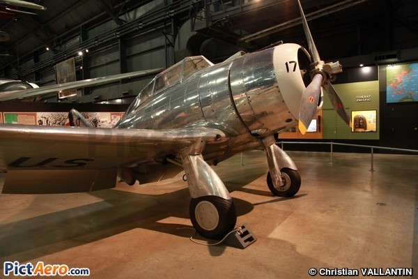 Seversky P-35 (National Museum of the USAF)