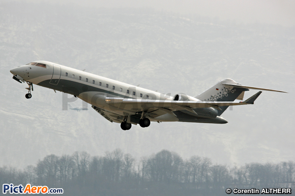 Bombardier BD-700-1A10 Global Express (Luxaviation Germany)