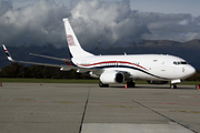 Boeing 737-7HZ/BBJ (P4-MAK)