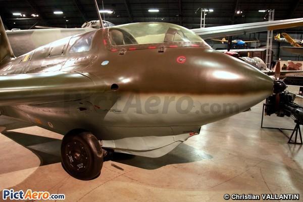 Messerschmitt Me-163B-1A Komet (National Museum of the USAF)