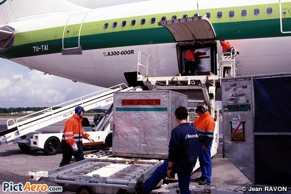 Airbus A300B4-605R (Air Afrique)