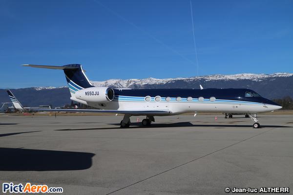 Gulfstream G550 (Wells Fargo Bank Northwest NA Trustee)