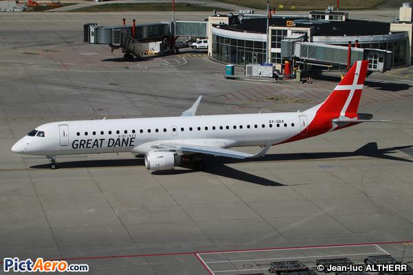 Embraer ERJ-195LR (ERJ-190-200LR) (Great Dane Airlines)