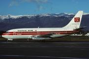 Boeing 737-2H3/Adv (TS-IOC)