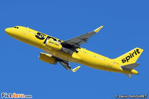 Airbus A320-232/WL (Spirit Airlines)